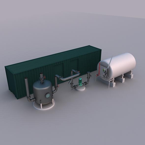Industrial Equipment - 3DOcean Item for Sale