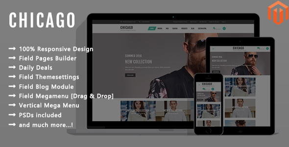 Chicago – Responsive Magento 2 Theme