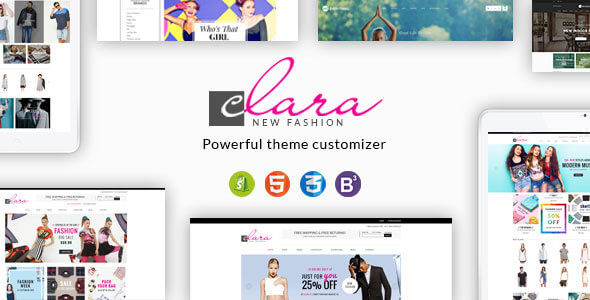 Image of Clara - Minimalist Fashion Responsive Shopify Theme