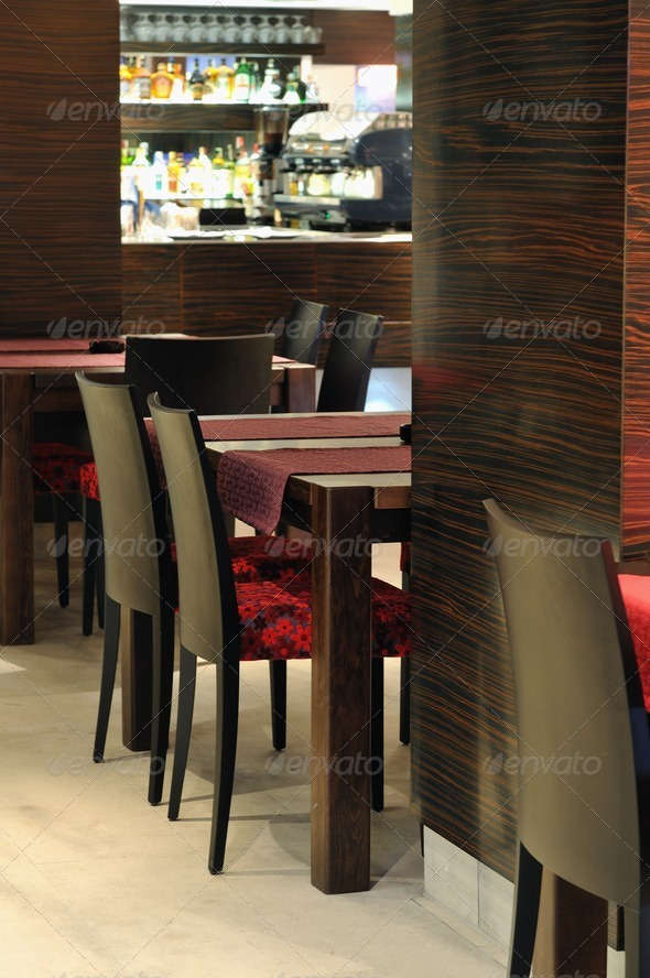caffee restaurant - Stock Photo - Images