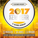New Year 2017 Flyer Design - GraphicRiver Item for Sale
