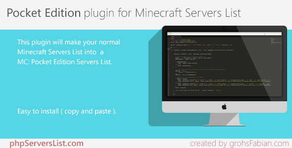 Minecraft Pocket Edition Servers List - CodeCanyon Item for Sale