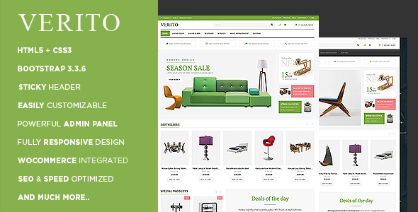 Verito – Multipurpose WooCommerce Theme
