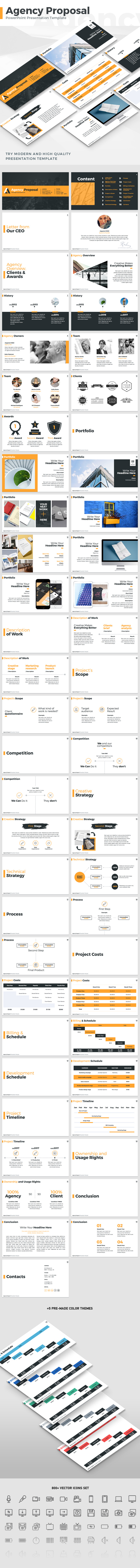 Agency Proposal - PowerPoint Template - PowerPoint Templates Presentation Templates