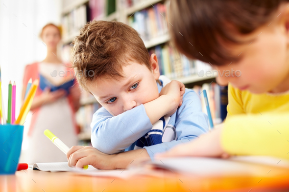 Schoolwork - Stock Photo - Images