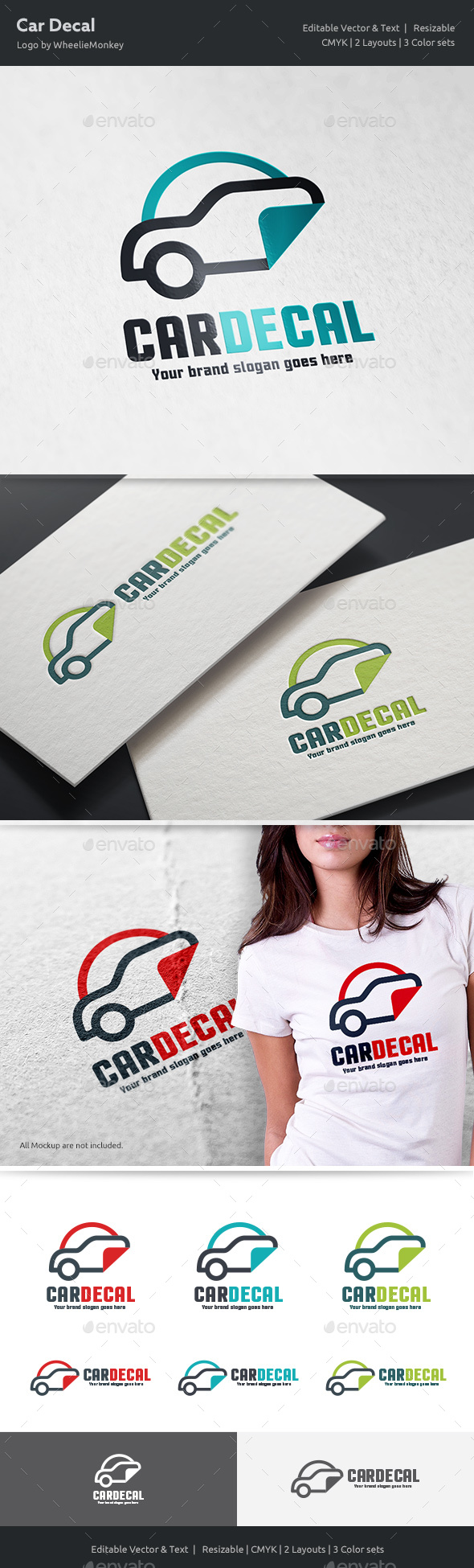 Car Decal Logo