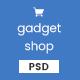 GadgetShop - eCommerce Gadget Shop PSD Template
