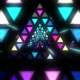 Triangles Pyramids Tunnel and Lights VJ Loop - VideoHive Item for Sale