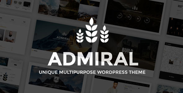 Admiral - Unique Multipurpose WP Theme