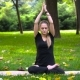 Young Girl Engaged In Yoga - VideoHive Item for Sale