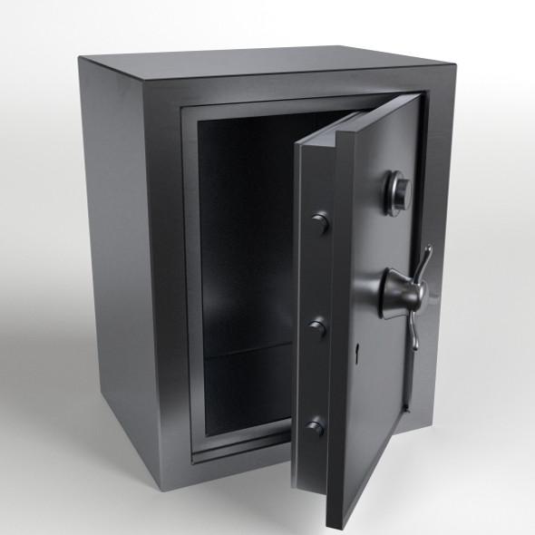 Safety Vault - 3DOcean Item for Sale