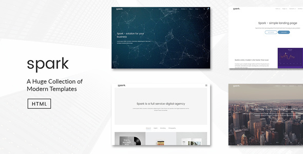 Spark | Modern Multi-Purpose HTML5 Template