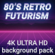 80s Retro Futurism Background Pack 4K - VideoHive Item for Sale