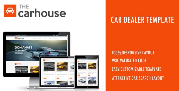 Car House – Car Dealer Template