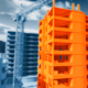 Timelapse Animation of Construction of a Multistory Building - VideoHive Item for Sale