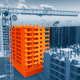 Construction of a Building - VideoHive Item for Sale