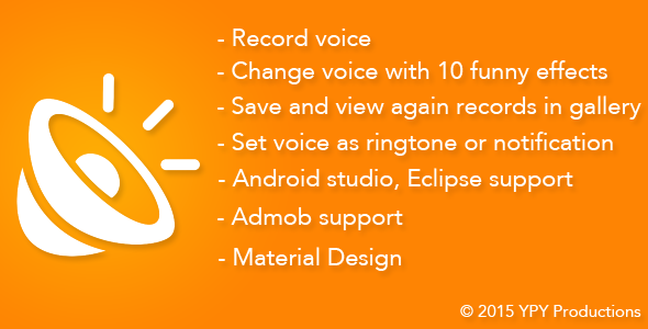 Funny Voice - Voice Changer - CodeCanyon Item for Sale