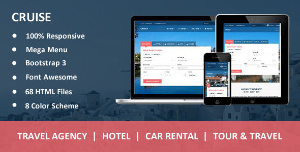 Cruise - Responsive Travel Agency WordPress Theme