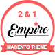 Empire - Magento 2 and 1 theme Nulled