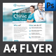 Clinic Flyer Template - GraphicRiver Item for Sale