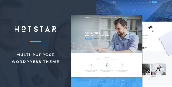 HotStar – Multi-Purpose Business Theme - Business Corporate