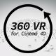 360 VR for Cinema 4D