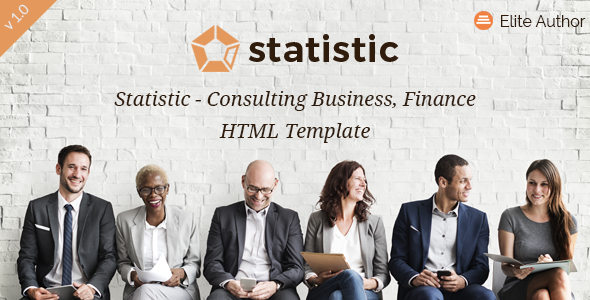 Statistic - Consulting Business, Finance HTML5 Template - Business Corporate