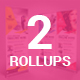 Bundle of 2 Multipurpose Rollup Banners - GraphicRiver Item for Sale