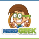 Nerd Geek Mascot Character - GraphicRiver Item for Sale