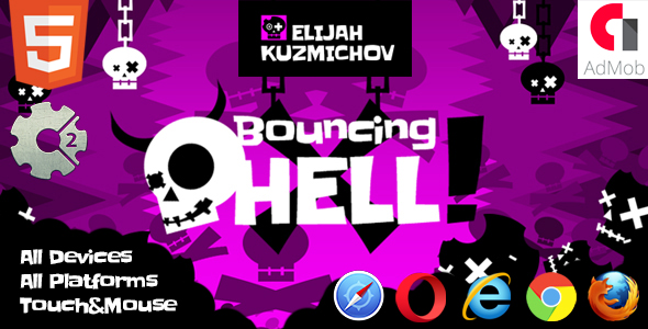 Bouncing Hell - CodeCanyon Item for Sale