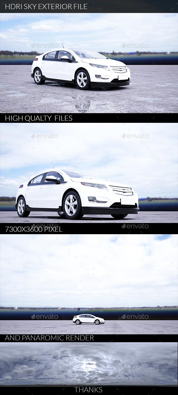Hdri Exteriors 005 - 3DOcean Item for Sale