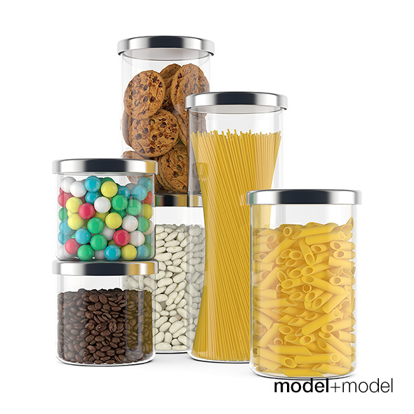Food containers - 3DOcean Item for Sale