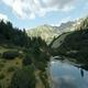 Aerial Footage Fish Lake Vasilashko 9 - VideoHive Item for Sale