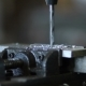 Drill Tool In Chuck During Metal Cutting Process - VideoHive Item for Sale