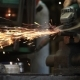 Worker Cutting Metal With a Grinder - VideoHive Item for Sale