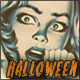 Creepy Halloween Vintage Horror Movie