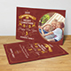 Christmas Greeting Postcard - GraphicRiver Item for Sale