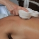 Masseur Massage Woman's Shoulder Blade By Massage Machine - VideoHive Item for Sale