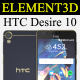 Element3D - HTC Desire 10 lifestyle - 3DOcean Item for Sale
