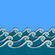 Cartoon Sea Waves - VideoHive Item for Sale