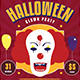Halloween Horror Clown Festival - GraphicRiver Item for Sale