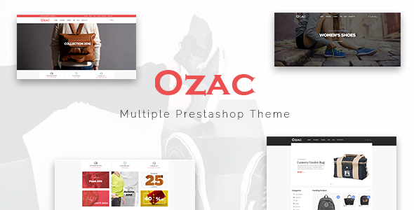 Leo Ozac Responsive Prestashop Theme