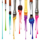 Artist Brushes with Paint - GraphicRiver Item for Sale