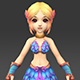 Cartoon Character Julni - 3DOcean Item for Sale