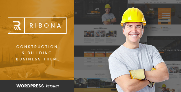 VG Ribona – WordPress Theme for Construction, Building Business