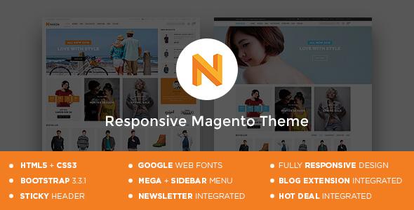Nexon – Magento Responsive Theme