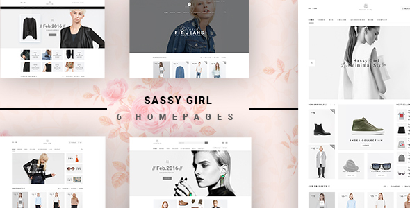 Sassy Girl – eCommerce Fashion Template