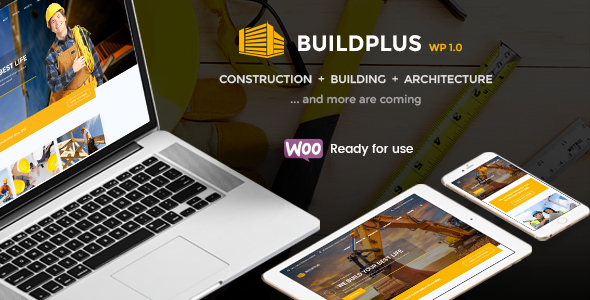 BuildPlus – Building & Construction Business WordPress Theme