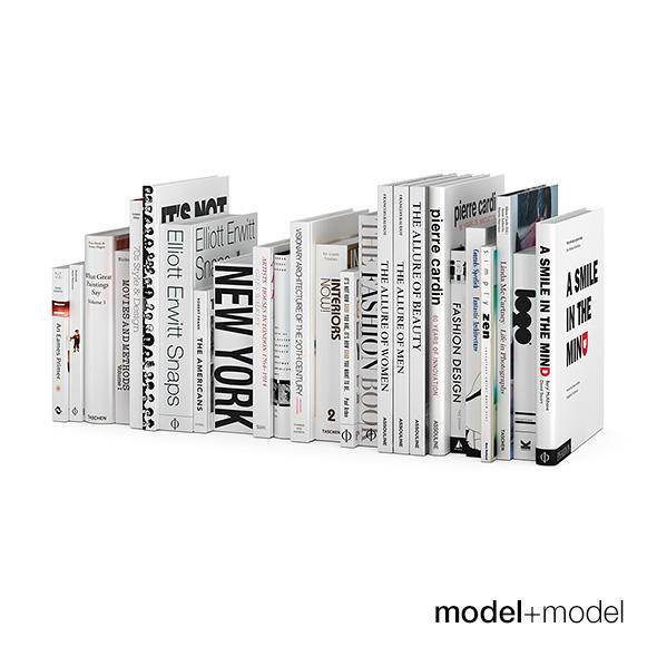 BW design books - 3DOcean Item for Sale