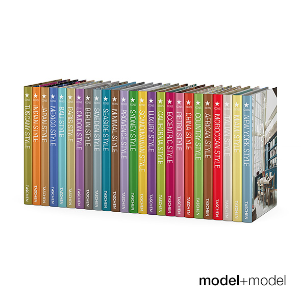 Taschen Icons books series - 3DOcean Item for Sale